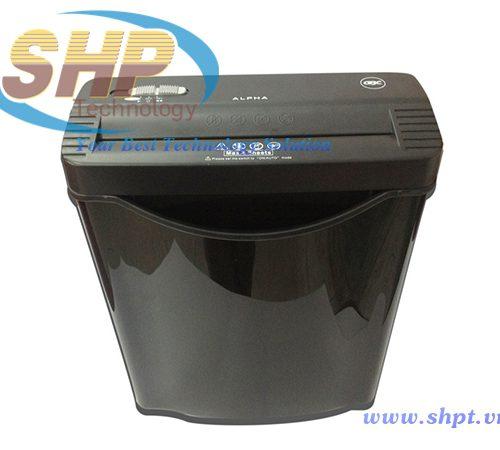 máy huỷ giấy alpha confetti