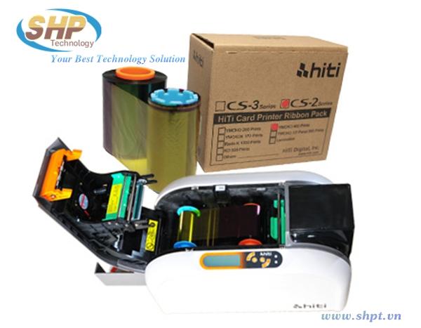 Ribbon máy in thẻ Hiti CS200e