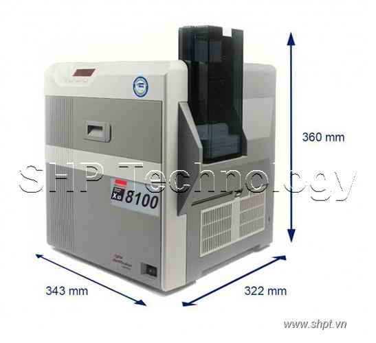 Máy in thẻ chuyển tiếp cơ bản Matica XID8100